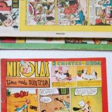 Tebeos: NICOLAS Nº 68 EDICIONES CLIPER GARCIA LORENTE JORGE MARTZ SCHMIDT FIGUERAS SAGASTI .... Lote 193809261