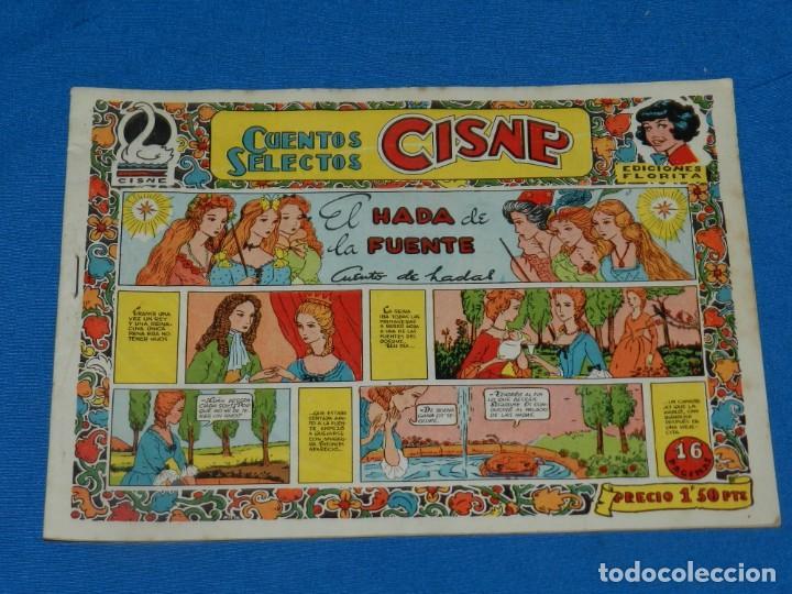 (M0) CUENTOS SELECTOS CISNE N.13 EDICIONES FLORITA, BUEN ESTADO (Tebeos y Comics - Cliper - Florita)