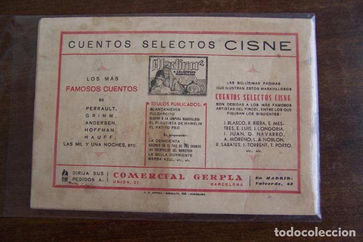 Tebeos: cliper cisne, cuentos selectos nº 6 de 1ª ed. - Foto 2 - 193953927