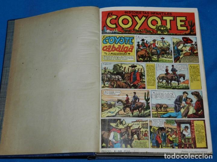 (M11) EL COYOTE DEL NUM 1 AL NUM 37 - ALMANAQUE 1948 - ALMANAQUE VERANO 1948 - ALMANAQUE 1949 (Tebeos y Comics - Cliper - El Coyote)