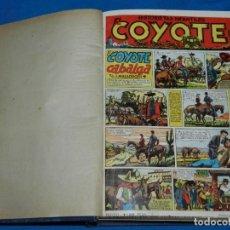 Tebeos: (M11) EL COYOTE DEL NUM 1 AL NUM 37 - ALMANAQUE 1948 - ALMANAQUE VERANO 1948 - ALMANAQUE 1949. Lote 194392085