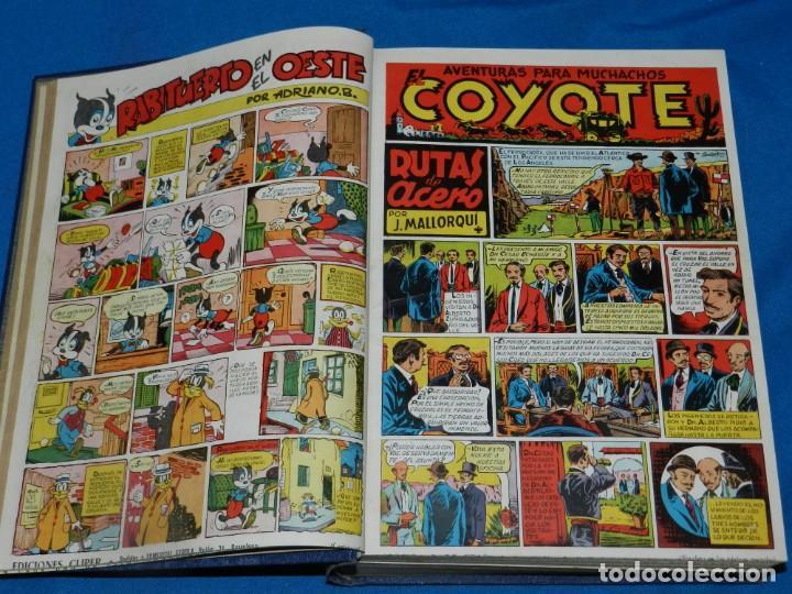 Tebeos: (M11) EL COYOTE DEL NUM 1 AL NUM 37 - ALMANAQUE 1948 - ALMANAQUE VERANO 1948 - ALMANAQUE 1949 - Foto 2 - 194392085