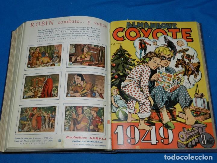 Tebeos: (M11) EL COYOTE DEL NUM 1 AL NUM 37 - ALMANAQUE 1948 - ALMANAQUE VERANO 1948 - ALMANAQUE 1949 - Foto 5 - 194392085