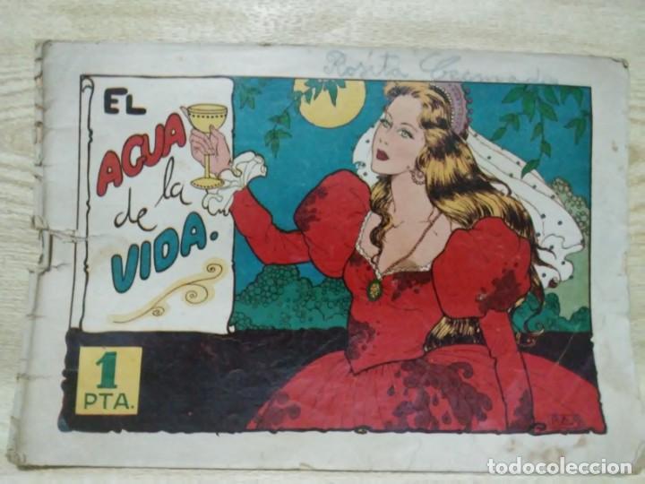 CUADERNOS SELECTOS CISNE Nº 28 EL AGUA DE LA VIDA EDITORIAL CLIPER 1942 (Tebeos y Comics - Cliper - Otros)