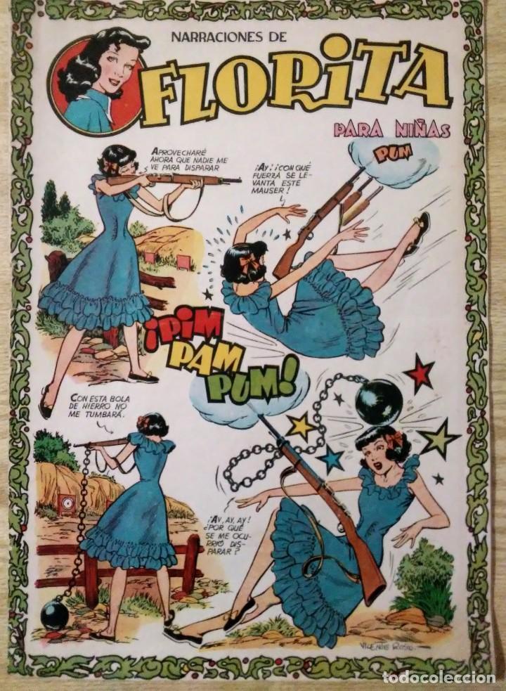 Tebeos: lote 3 cuentos de florita nº 87, 102 y 396 ed. Cliper espirituazul - Foto 2 - 194523632