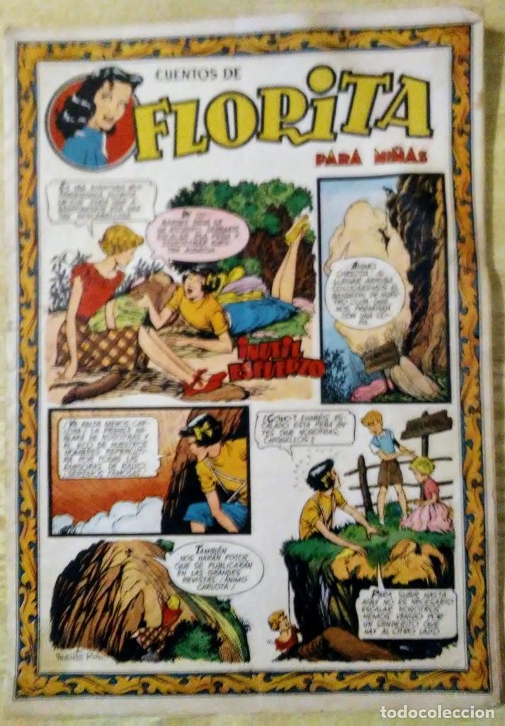 Tebeos: lote 3 cuentos de florita nº 87, 102 y 396 ed. Cliper espirituazul - Foto 3 - 194523632