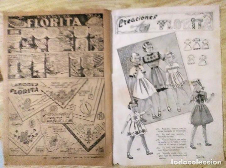 Tebeos: lote 3 cuentos de florita nº 87, 102 y 396 ed. Cliper espirituazul - Foto 9 - 194523632