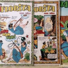 Tebeos: LOTE 3 CUENTOS DE FLORITA Nº 87, 102 Y 396 ED. CLIPER. Lote 194523632