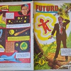 Tebeos: COMIC: FUTURO Nº 11. LA REVISTA DE LAS RUTAS DEL ESPACIO. REEDICION ESPAÑOLA AGOTADA. AÑOS 50. Lote 194896231