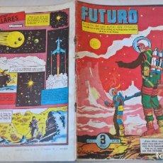 Tebeos: COMIC: FUTURO Nº 13. LA REVISTA DE LAS RUTAS DEL ESPACIO. REEDICION ESPAÑOLA AGOTADA. AÑOS 50. Lote 194896297
