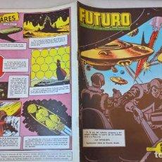 Tebeos: COMIC: FUTURO Nº 12. LA REVISTA DE LAS RUTAS DEL ESPACIO. REEDICION ESPAÑOLA AGOTADA. AÑOS 50 . Lote 194896435