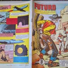 Tebeos: COMIC: FUTURO Nº 15. LA REVISTA DE LAS RUTAS DEL ESPACIO. REEDICION ESPAÑOLA AGOTADA. AÑOS 50 . Lote 194896562