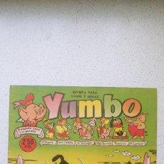 Tebeos: YUMBO Nº 229 CLIPER AYNÉ, RAF, JAN, SALVADOR MESTRES, GARCÍA LORENTE, AYNÉ .... Lote 196006413