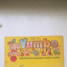 Tebeos: YUMBO Nº 267 CLIPER RAF, AYNÉ, SALVADOR MESTRES, NIN, CUBERO .... Lote 196007263