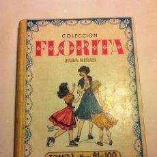 Tebeos: FLORITA - TOMO Nº. V- MUY BIEN CONSERVADO. Lote 196453601