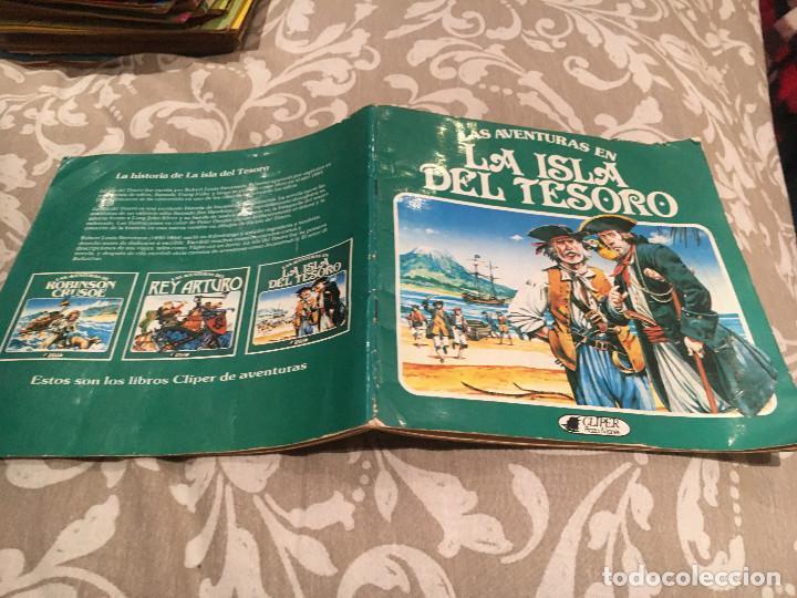 LAS AVENTURAS EN LA ISLA DEL TESORO - CLIPER - PLAZA & JANES 1982 (Tebeos y Comics - Cliper - Otros)