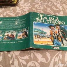 Tebeos: LAS AVENTURAS EN LA ISLA DEL TESORO - CLIPER - PLAZA & JANES 1982. Lote 197758157