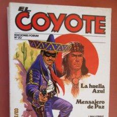 Tebeos: EL COYOTE EDICIONES FORUM Nº 20 J MALLORQUI-1983 LA HUELLA AZUL , MENSAJERO DE PAZ . Lote 198182692