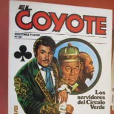 Tebeos: EL COYOTE EDICIONES FORUM Nº 28 J MALLORQUI-1983, LOS SERVIDORES DEL CIRCULO , SEIS TRÉBOLES . Lote 198185756