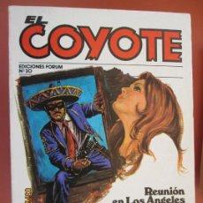 Tebeos: EL COYOTE EDICIONES FORUM Nº 30 J MALLORQUI-1983- REUNION EN LOS ANGELES , LUCES DE CALIFORNIA . Lote 198185993