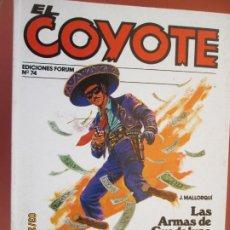 Tebeos: EL COYOTE EDICIONES FORUM Nº74 J MALLORQUI-1983-LAS ARMA DE GUADALUPE - LA ULTIMA CARTA DE FRANK . Lote 198192731