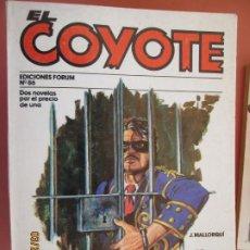 Tebeos: EL COYOTE EDICIONES FORUM Nº86 J MALLORQUI-1983- MORIR NO CUESTA NADA - HACE FALTA EL COYOTE . Lote 198194217
