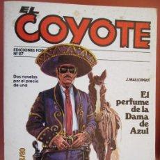Tebeos: EL COYOTE EDICIONES FORUM Nº87 J MALLORQUI-1983- EL PERFUME DE LA DAMA AZUL - LA LEY TERMINA EN SAN. Lote 198194353