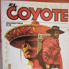 Tebeos: EL COYOTE EDICIONES FORUM Nº 88 J MALLORQUI-1983,SIEMPRE OCURRE EN CALIFORNIA - EL PENULTIMO VIAJERO. Lote 198194456