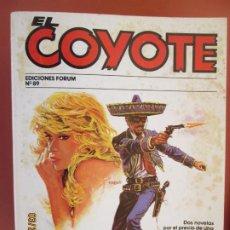 Tebeos: EL COYOTE EDICIONES FORUM Nº89 J MALLORQUI-1983-MURIO VIOLENTAMENTE , LA PRINCESA Y EL COYOTE . Lote 198194610