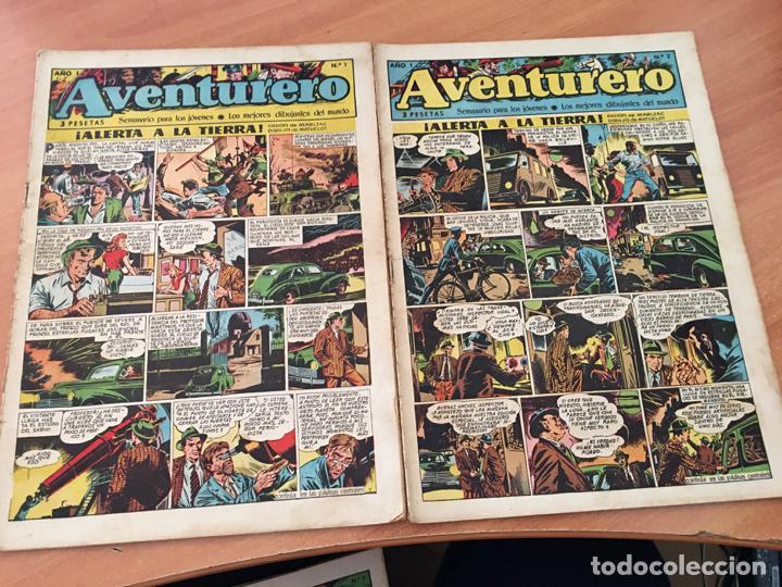 Tebeos: AVENTURERO LOTE 1 AL 10 ED, CLIPER (COIB72) - Foto 3 - 199132742