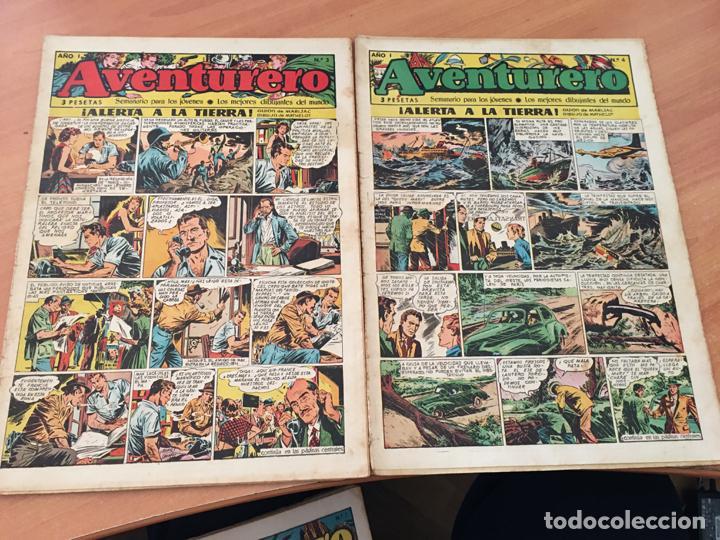 Tebeos: AVENTURERO LOTE 1 AL 10 ED, CLIPER (COIB72) - Foto 4 - 199132742
