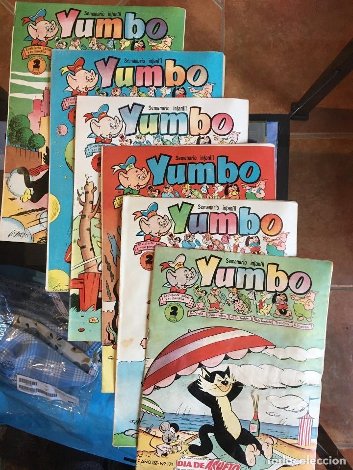 YUMBO EDICIONES CLIPER LOTE 12 COPIAS (Tebeos y Comics - Cliper - Yumbo)