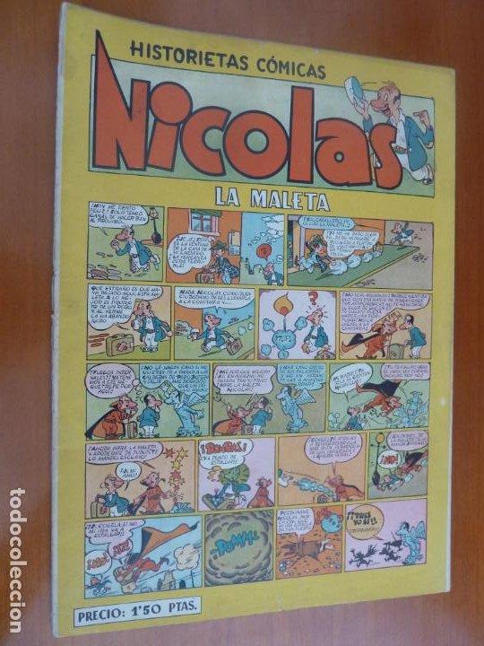 NICOLAS HISTORIETAS COMICAS LA MALETA (Tebeos y Comics - Cliper - Nicolas)
