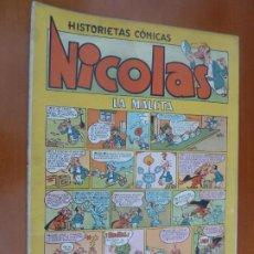 Tebeos: NICOLAS HISTORIETAS COMICAS LA MALETA. Lote 202718635