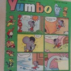 Tebeos: YUMBO Nº 337. EDICIONES CLIPER. BUEN ESTADO. Lote 203385986