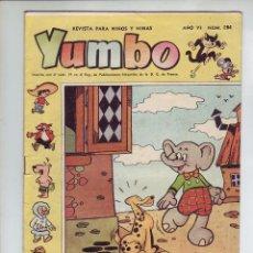 Tebeos: YUMBO - Nº 284 - AÑO VI - ED. CLIPER - AÑO 1958 - EN MUY BUEN ESTADO. Lote 203406936
