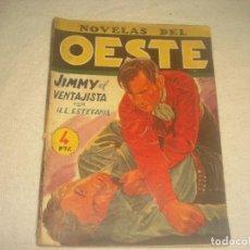 Tebeos: NOVELAS DEL OESTE. N. 35. JIMMY EL VENTAJISTA . ED CLIPER.. Lote 203940305