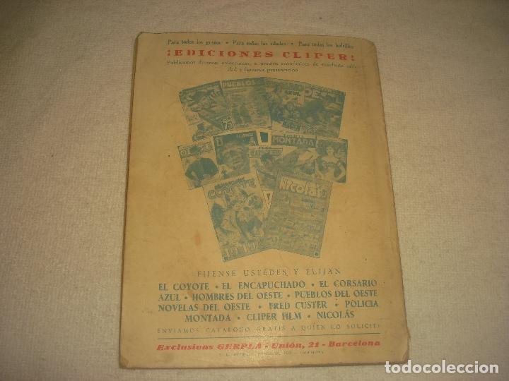 Tebeos: PUEBLOS DEL OESTE. EL DESTINO DE JOHN RINGO. J. MALLORQUI 1949 - Foto 2 - 203940712