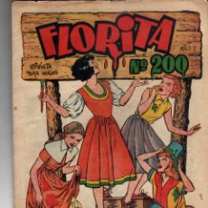 Tebeos: FLORITA ORIGINAL Nº 200. Lote 203941153