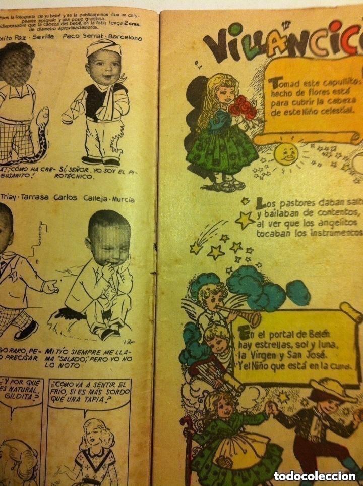 Tebeos: florita -almanaque 1955 - Foto 3 - 204498707
