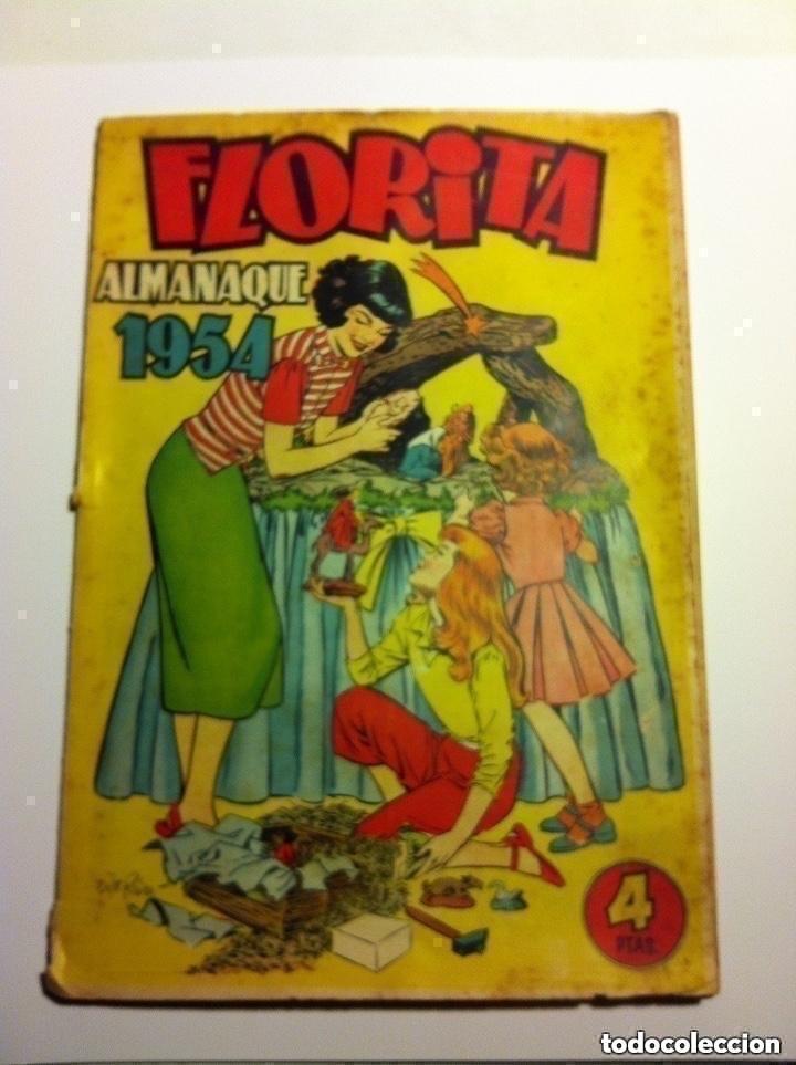 FLORITA -ALMANAQUE 1954 (Tebeos y Comics - Cliper - Florita)