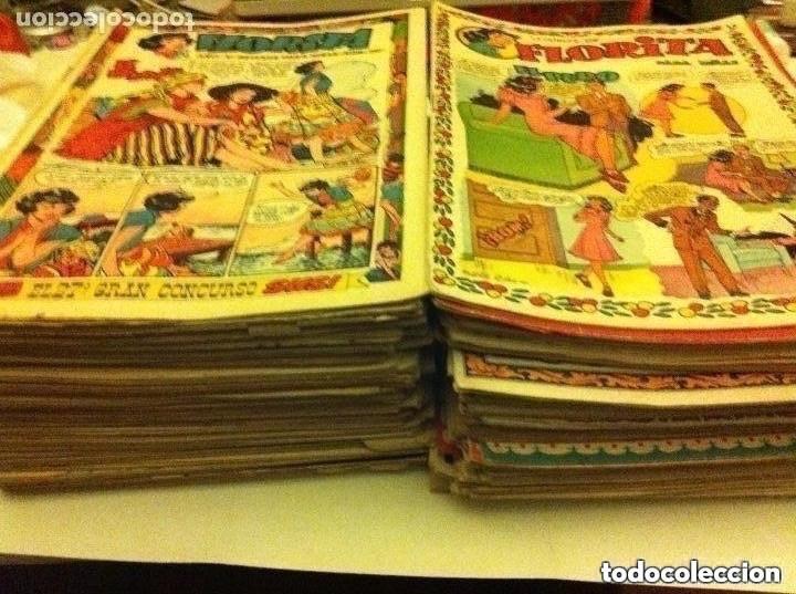 FLORITA - 200 EJEMPLARES MUY BIEN CONSERVADOS (Tebeos y Comics - Cliper - Florita)