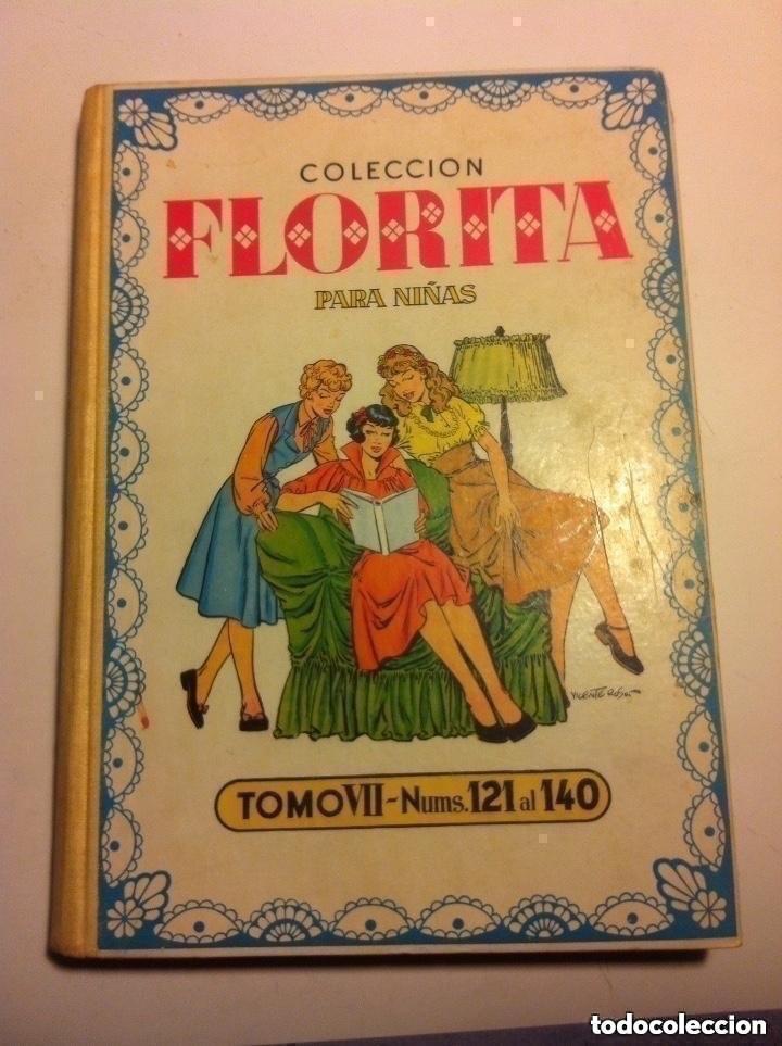 FLORITA - TOMO Nº. VII- MUY BIEN CONSERVADO (Tebeos y Comics - Cliper - Florita)