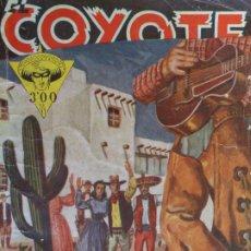Tebeos: EL COYOTE Nº 49. REUNIÓN EN LOS ÁNGELES. J. MALLORQUÍ. CLIPER 1947. Lote 204552092