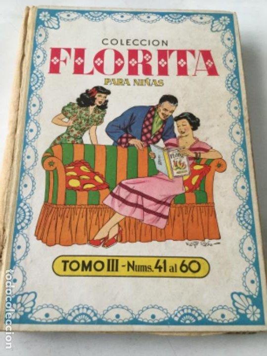 FLORITA- VOLUMEN III- (Tebeos y Comics - Cliper - Florita)