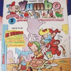 Tebeos: YUMBO SEMANARIO INFANTIL AÑO IV NUMERO 145 CLIPER. Lote 204718247