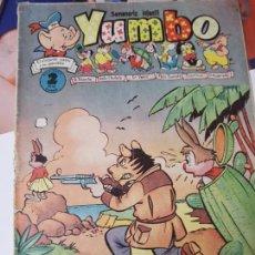 Tebeos: YUMBO SEMANARIO INFANTIL AÑO III NUMERO 92 CLIPER. Lote 204718360