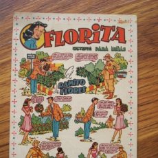 Tebeos: FLORITA (FOLLETO ANUNCIO FLYER PUBLICIDAD COLECCIÓN FLORITA) FLORITA PARA NIÑAS EL RAMITO DE FLORES. Lote 205516143