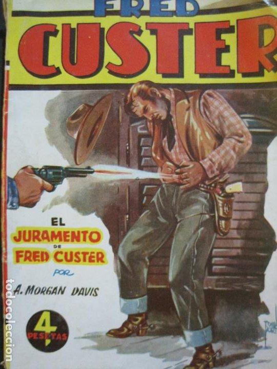 Tebeos: FRED CUSTER-EL JURAMENTO-EDICIONES CLIPER-Nº 15-VER FOTOS-(V-20.265) - Foto 2 - 206163393
