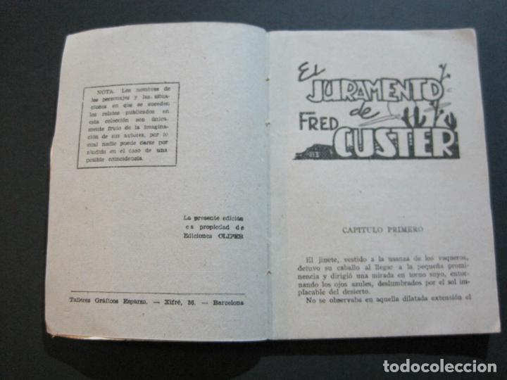 Tebeos: FRED CUSTER-EL JURAMENTO-EDICIONES CLIPER-Nº 15-VER FOTOS-(V-20.265) - Foto 7 - 206163393
